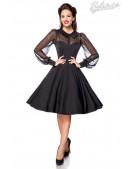 Нарядное винтажное платье с длинным рукавом B5488 (105488) - foto