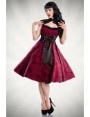 Платье в стиле Rockabilly XC199 (105199) - материал, 6