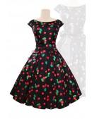 Платье Рокабилли с карманами и поясом XTC5356 (105356) - foto