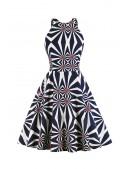 Яркое платье с рисунком XC5468 (105468) - foto