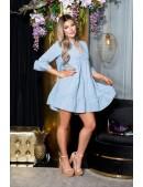 Платье Беби долл с рукавом 3/4 KouCla (105498) - цена, 4