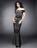 Платье Скелет русалки (105201) - оригинальная одежда, 2