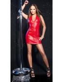 Блестящее красное мини-платье KouCla (127154) - 3, 8