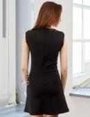 Черное короткое платье XC5112 (105112) - оригинальная одежда, 2