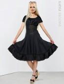 Льняное платье со шнуровкой Xstyle (105129) - foto