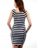 Летнее платье в полоску (105092) - оригинальная одежда, 2
