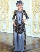 Викторианское платье конца 19 ст. (125007) - foto