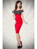 Винтажное платье-карандаш (105176) - foto
