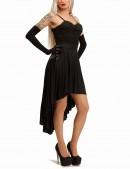 Платье с корсетом и юбкой плиссе KR147 (105147) - 3, 8