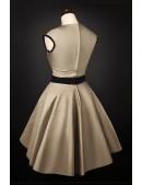 Платье в стиле 50-х с подъюбником (105169) - оригинальная одежда, 2