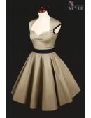 Платье в стиле 50-х с подъюбником (105169) - foto