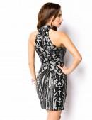 Облегающее платье с блестками A5200 (105200) - оригинальная одежда, 2