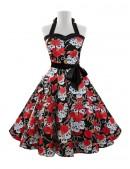 Платье Рокабилли X203 (105203) - материал, 6