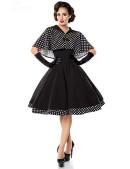 Платье в стиле 50-х с шалью (105214) - 4, 10