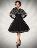 Платье в стиле 50-х с шалью (105214) - foto
