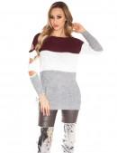 Вязаное платье-туника KouCla (105232) - 3, 8