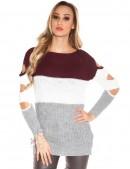 Вязаное платье-туника KouCla (105232) - оригинальная одежда, 2