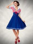 Ретро-платье с декольте Belsira (105247) - foto