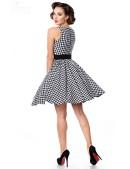 Платье в стиле 50-х с поясом (105251) - оригинальная одежда, 2