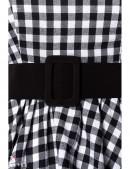 Платье в стиле 50-х с поясом (105251) - цена, 4