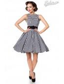 Платье в стиле 50-х с поясом (105251) - foto