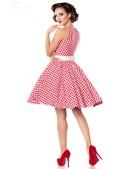 Винтажное платье в красную клетку (105252) - оригинальная одежда, 2