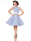 Хлопковое платье в стиле 50-х (105253) - материал, 6
