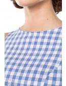 Хлопковое платье в стиле 50-х (105253) - 3, 8