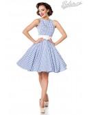 Хлопковое платье в стиле 50-х (105253) - foto