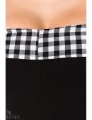 Ретро-платье с открытыми плечами (105254) - материал, 6