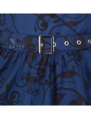 Синее платье в стиле Pin-Up (105262) - цена, 4