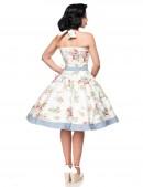 Ретро платье с винтажным узором (105264) - оригинальная одежда, 2
