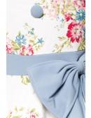 Ретро платье с винтажным узором (105264) - материал, 6