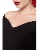 Черное платье в стиле Ретро Belsira (105266) - материал, 6