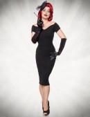 Черное платье в стиле Ретро Belsira (105266) - 3, 8
