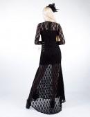 Кружевное платье со шлейфом Xstyle (105270) - оригинальная одежда, 2