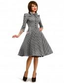 Клетчатое платье в стиле 50-х (105279) - материал, 6