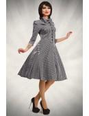 Клетчатое платье в стиле 50-х X-Style (105279) - 3, 8