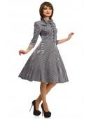 Клетчатое платье в стиле 50-х X-Style (105279) - оригинальная одежда, 2