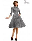 Клетчатое платье в стиле 50-х X-Style (105279) - foto