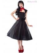 Черное платье Рокабилли AN5294 (105294) - foto