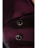 Платье Рокабилли с поясом и рукавом 3/4 (105295) - цена, 4
