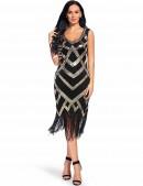 Платье в стиле Гэтсби XC5298 (105298) - 3, 8