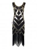 Платье в стиле Гэтсби XC5298 (105298) - оригинальная одежда, 2