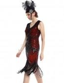Ретро-платье в стиле 20-х XTC (105299) - цена, 4