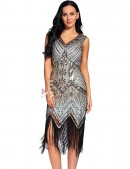 Платье в стиле Гэтсби XC5300 (105300) - 3, 8