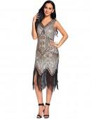 Платье в стиле Гэтсби XC5300 (105300) - материал, 6