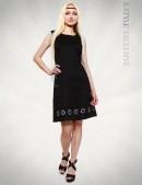 Льняное платье с вышивкой XT-130 (105130) - foto