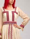Летнее платье с вышивкой XT-244 (105244) - материал, 6