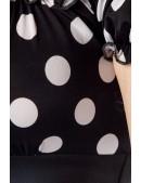 Облегающее платье в ретро-стиле (105174) - материал, 6